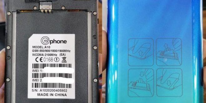 Gphone A10 Flash File