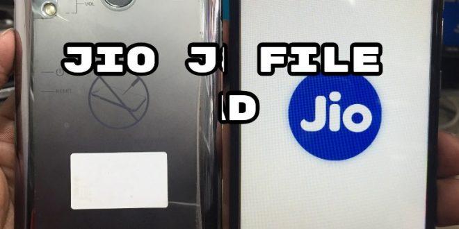 Jio J8 Flash File