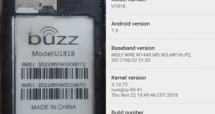 Buzz U1818 Flash File Hang Fix Firmware