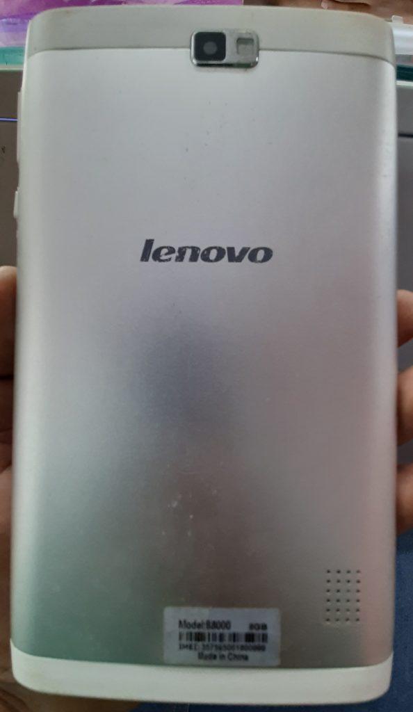 Lenovo B8000 firmware