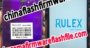 Rulex RM54 flash file
