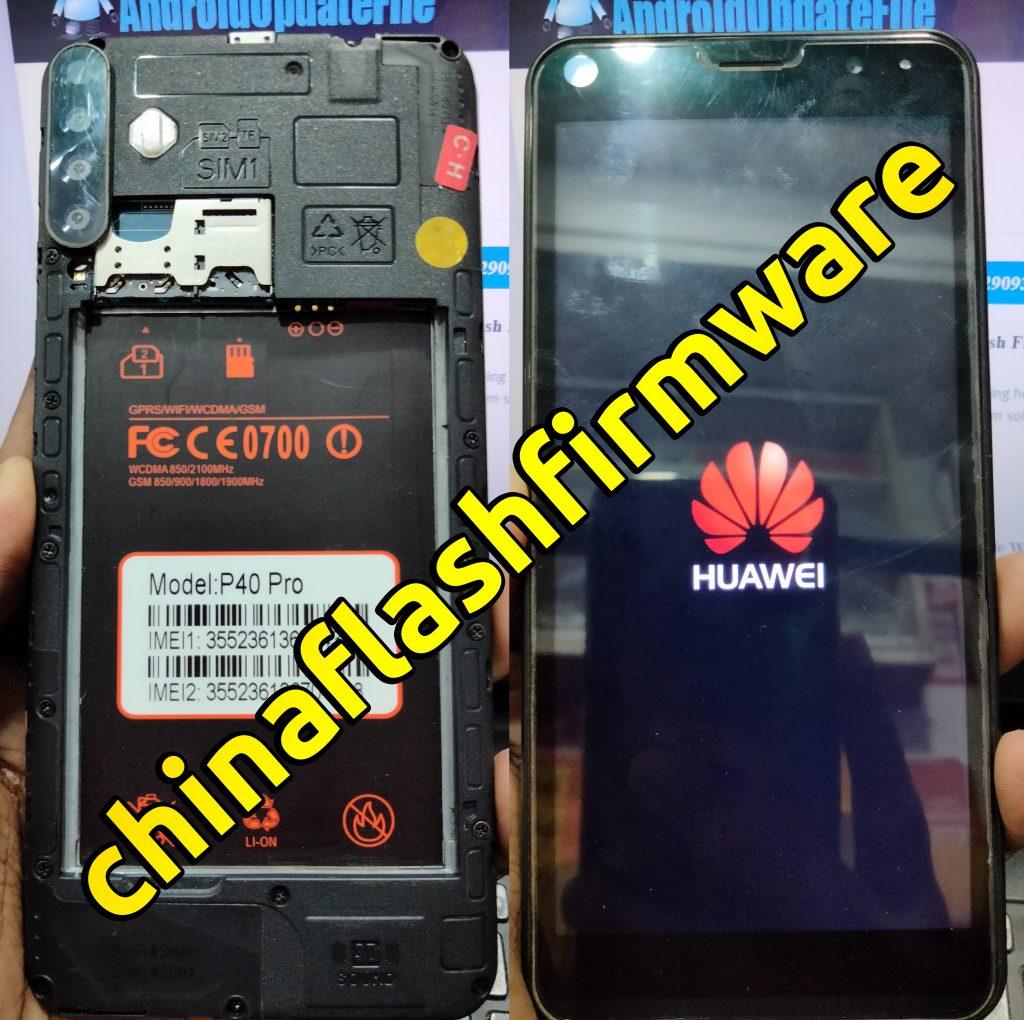 Huawei Clone P40 Pro Flash File