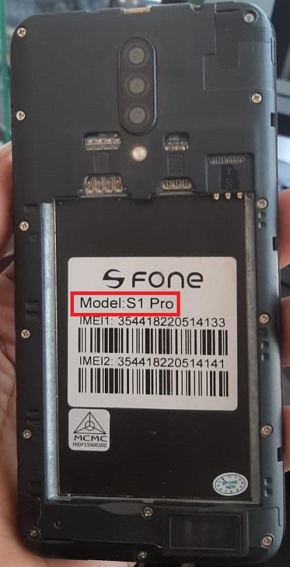 S Fone S1 Pro firmware