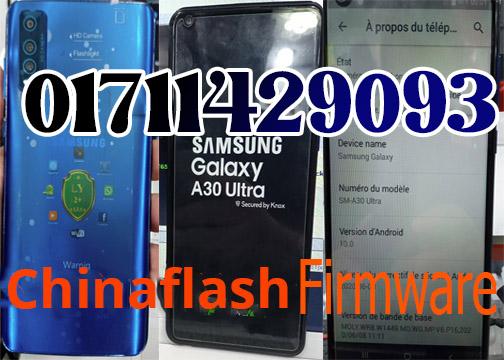 Samsung Clone A30 Ultra flash file
