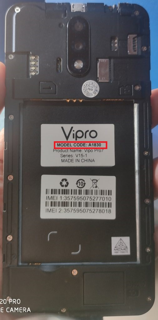Vipro A1830 Firmware